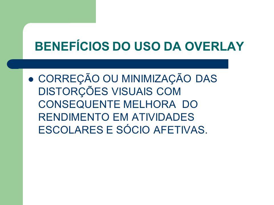 BENEFÍCIOS DO USO DA OVERLAY