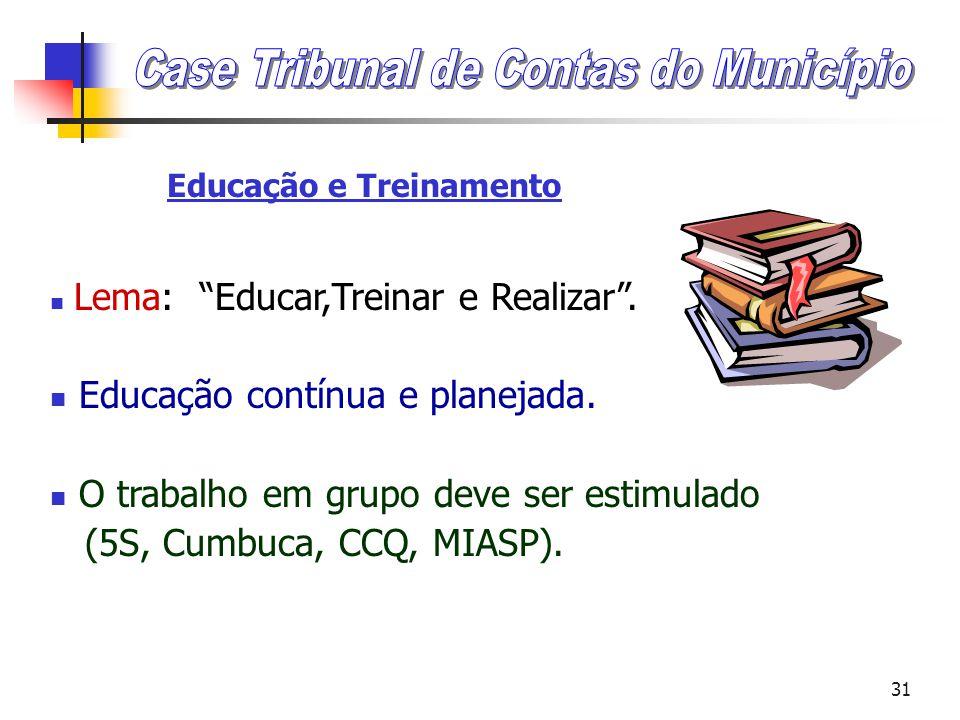 Educação e Treinamento