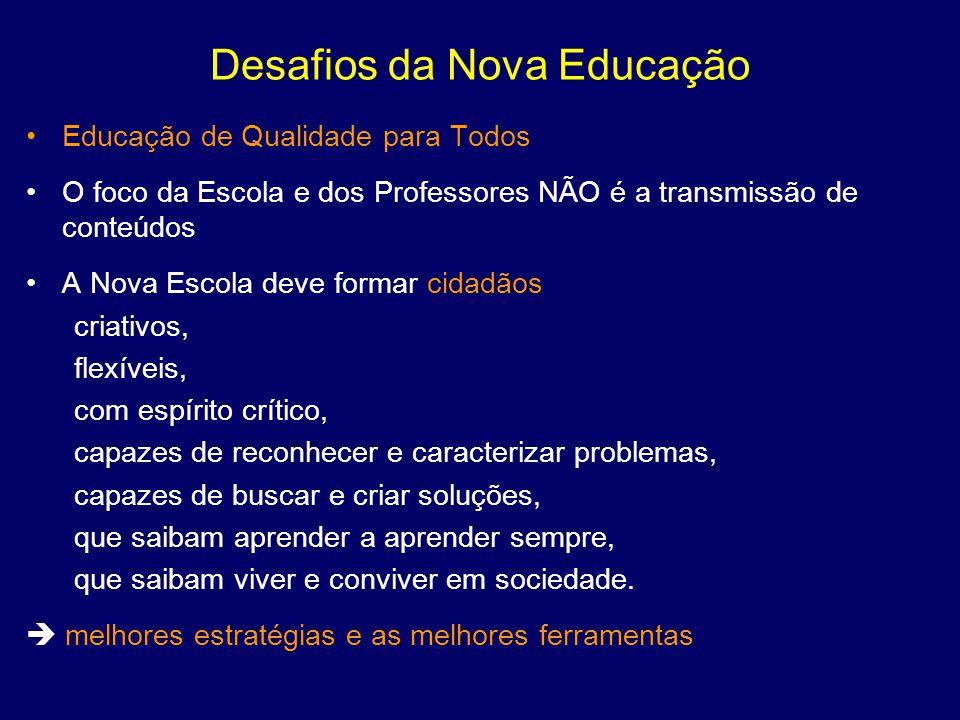 Desafios da Nova Educação