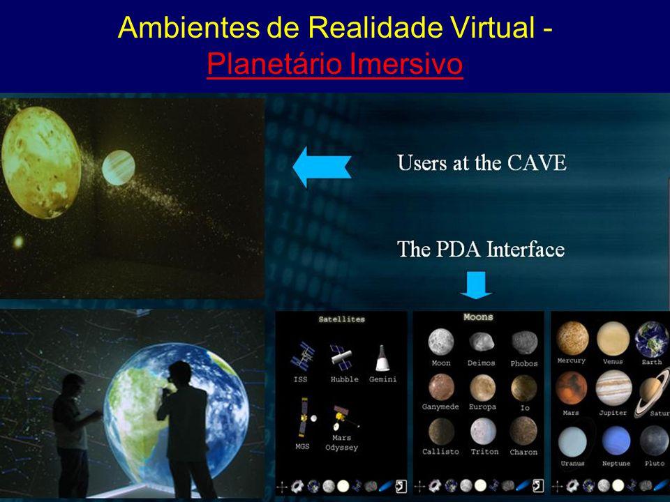 Ambientes de Realidade Virtual -Planetário Imersivo