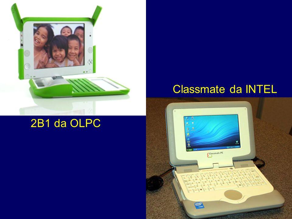 Classmate da INTEL 2B1 da OLPC
