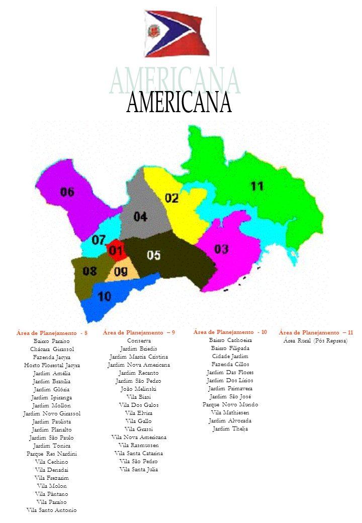 Área de Planejamento – 11 Área Rural (Pós Represa)