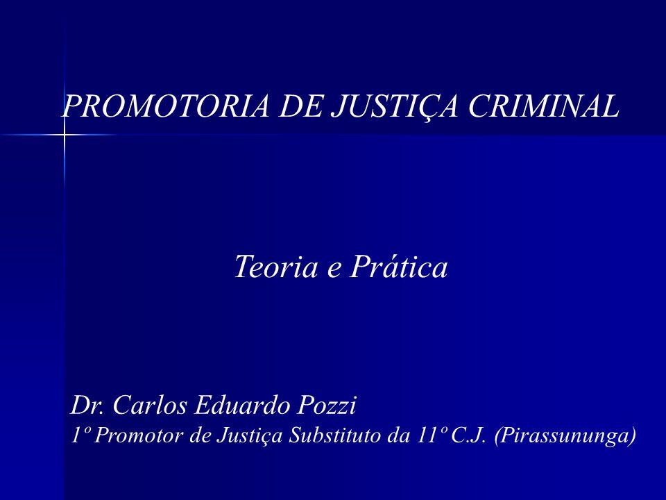 PROMOTORIA DE JUSTIÇA CRIMINAL