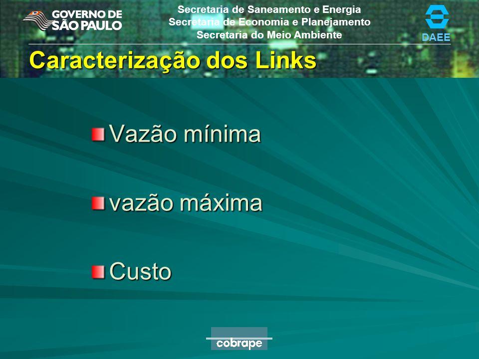 Caracterização dos Links