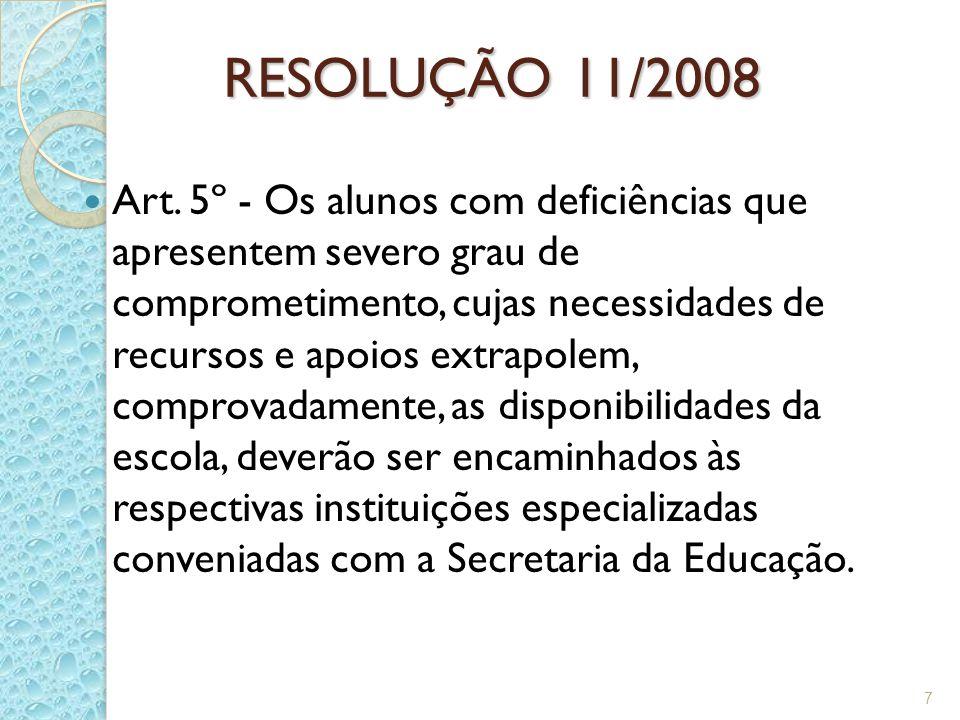 RESOLUÇÃO 11/2008