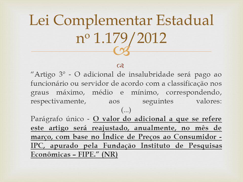 Lei Complementar Estadual no 1.179/2012