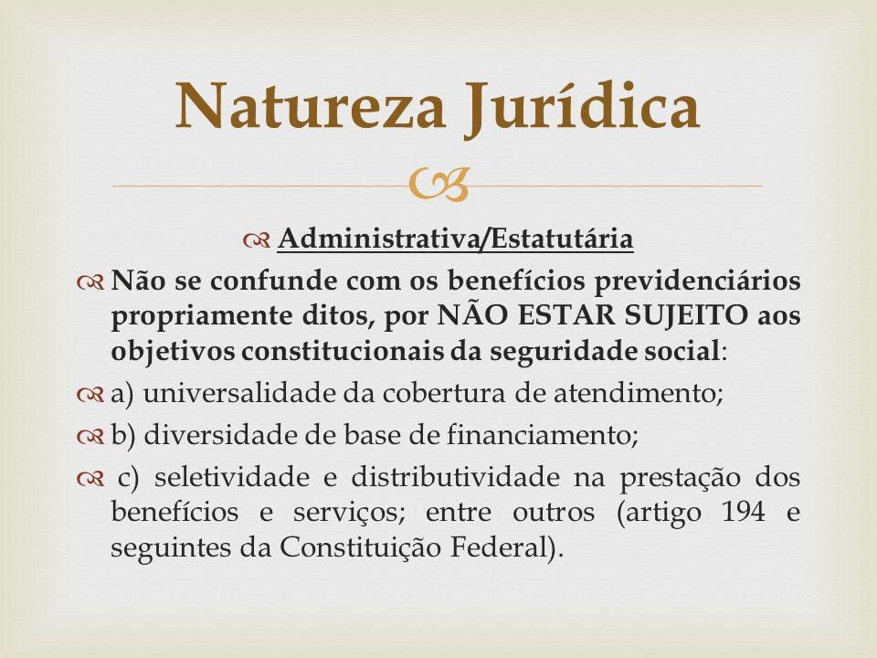 Administrativa/Estatutária