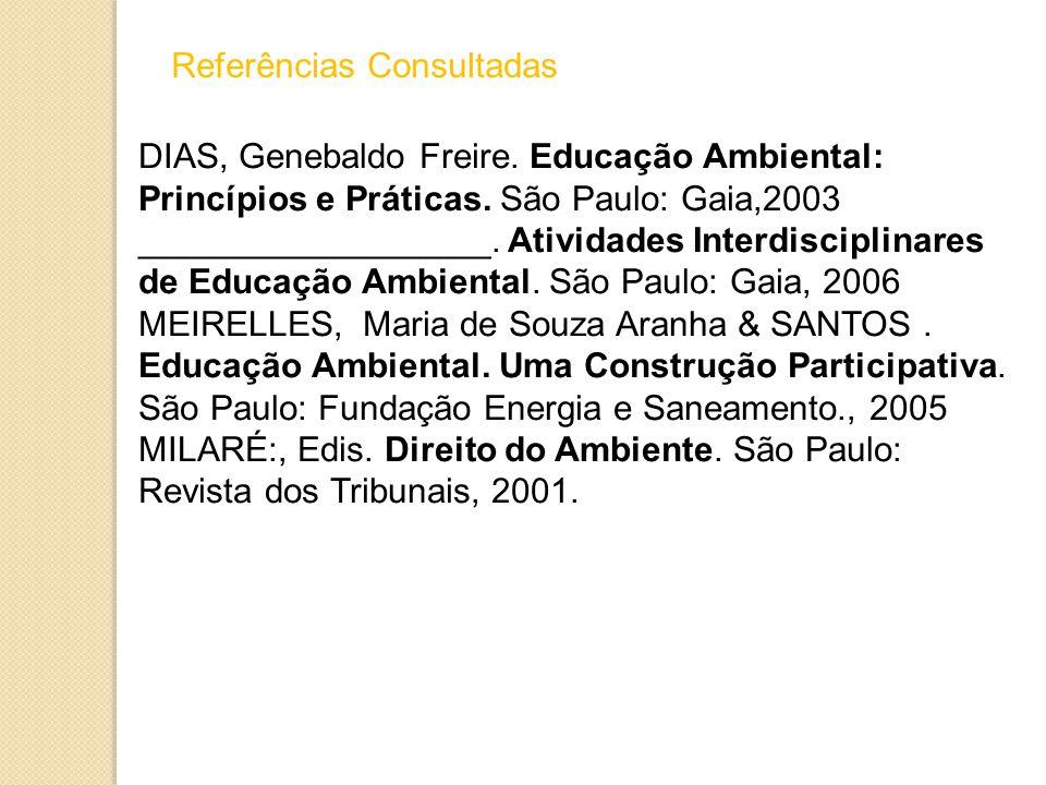 Referências Consultadas