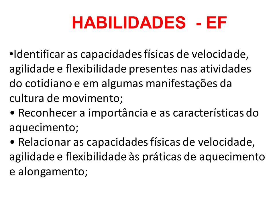 HABILIDADES - EF