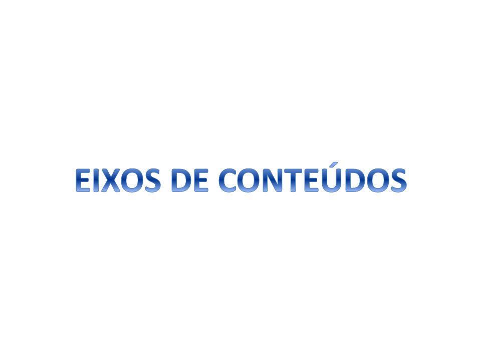 EIXOS DE CONTEÚDOS
