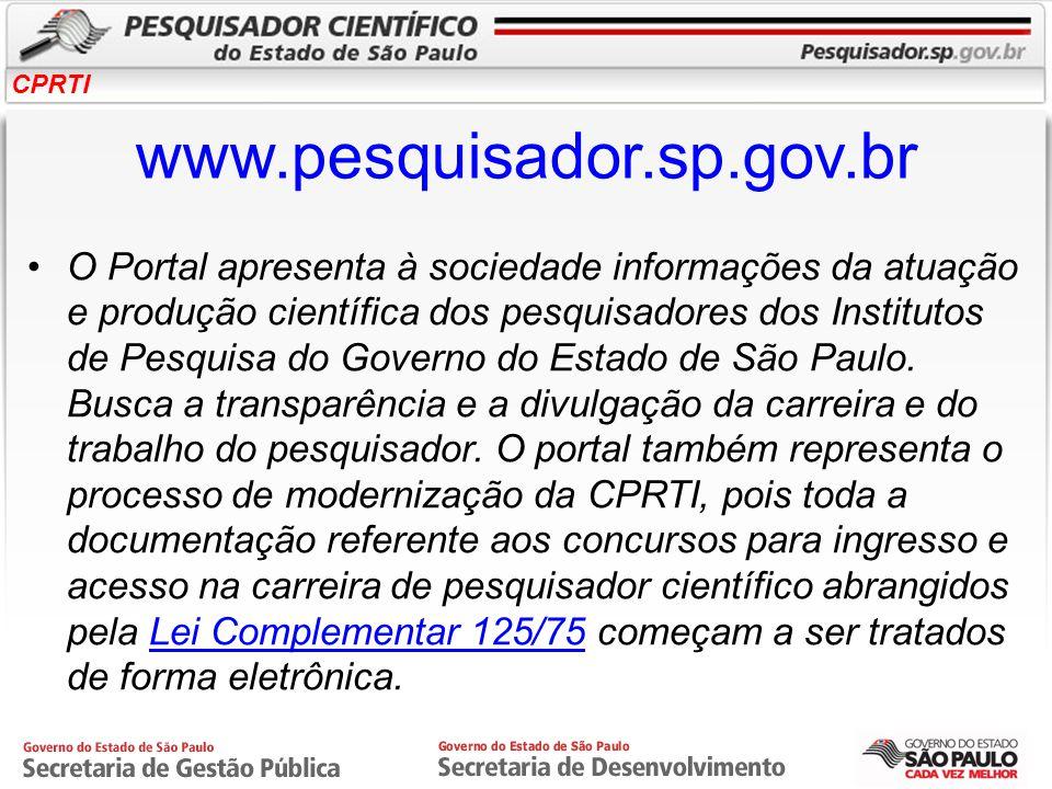 www.pesquisador.sp.gov.br