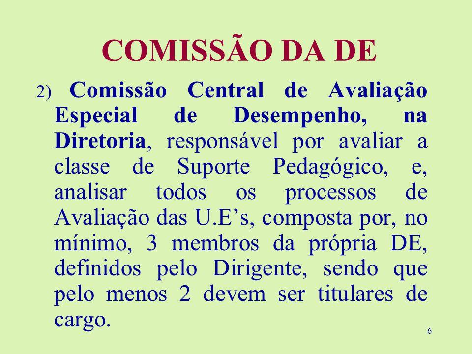 COMISSÃO DA DE