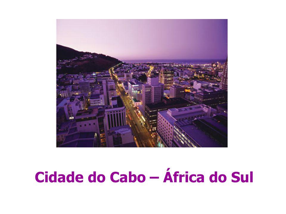 Cidade do Cabo – África do Sul