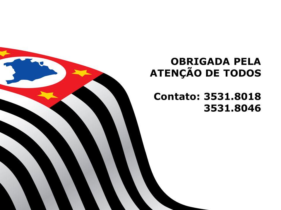 OBRIGADA PELA ATENÇÃO DE TODOS