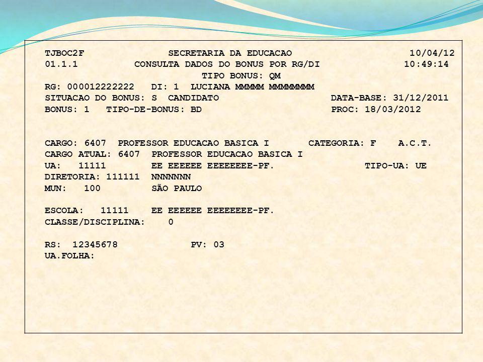 TJBOC2F SECRETARIA DA EDUCACAO 10/04/12