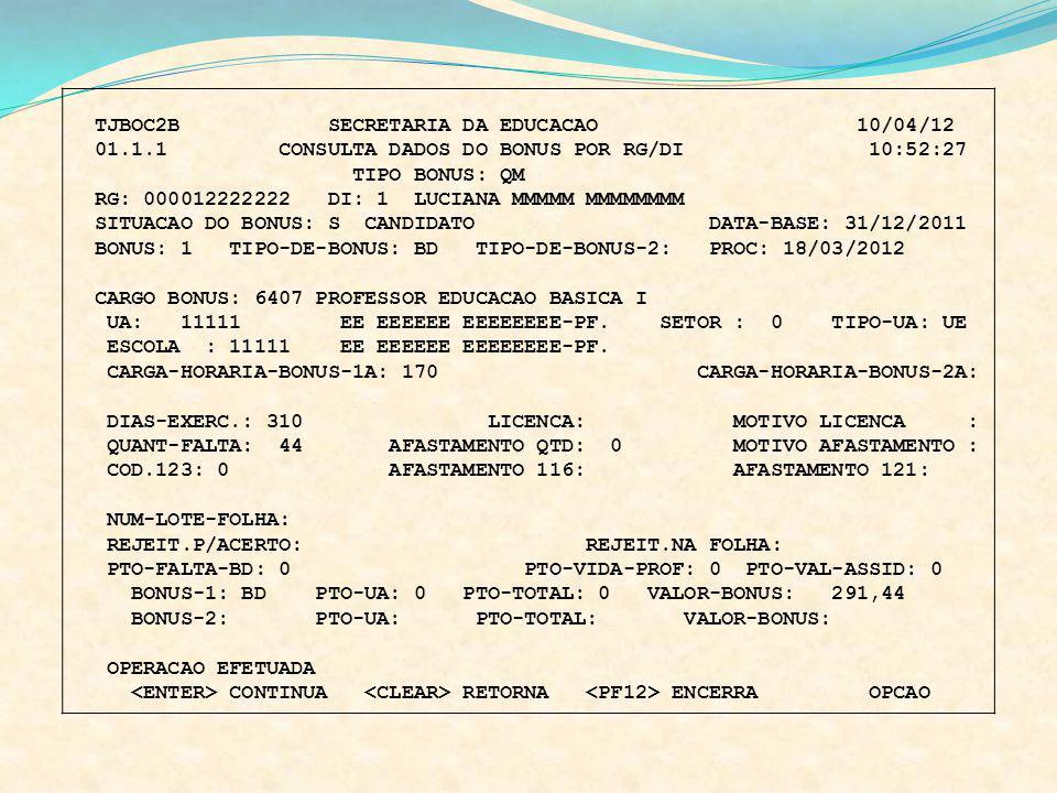TJBOC2B SECRETARIA DA EDUCACAO 10/04/12