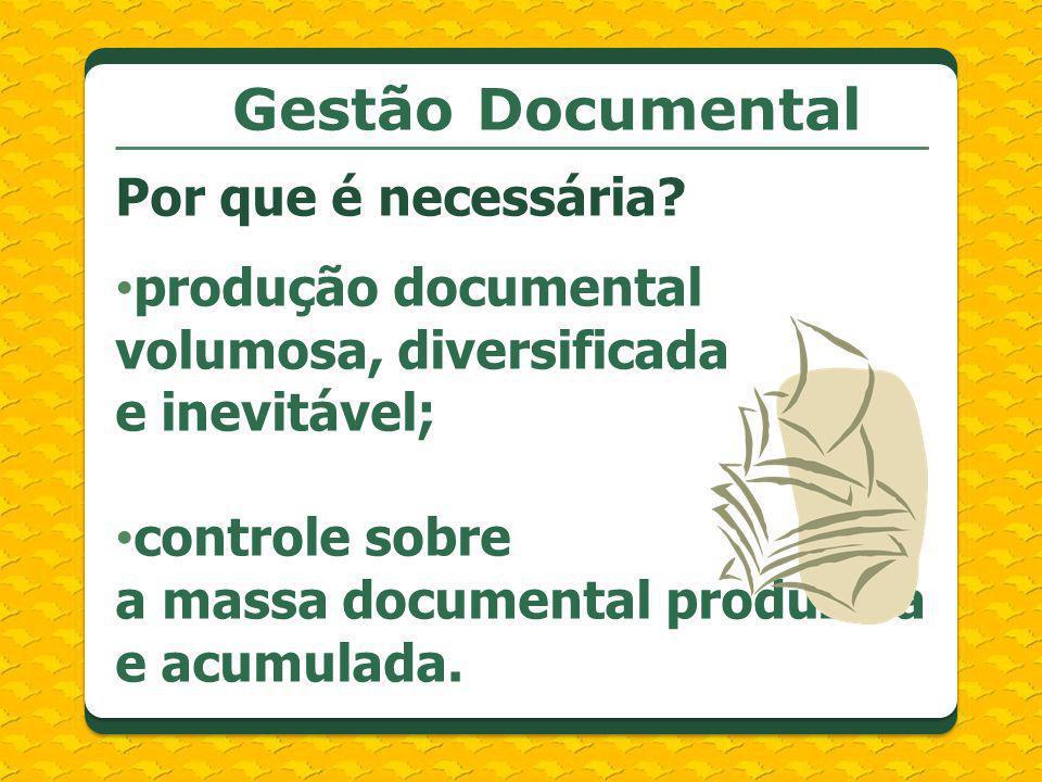 Gestão Documental Por que é necessária