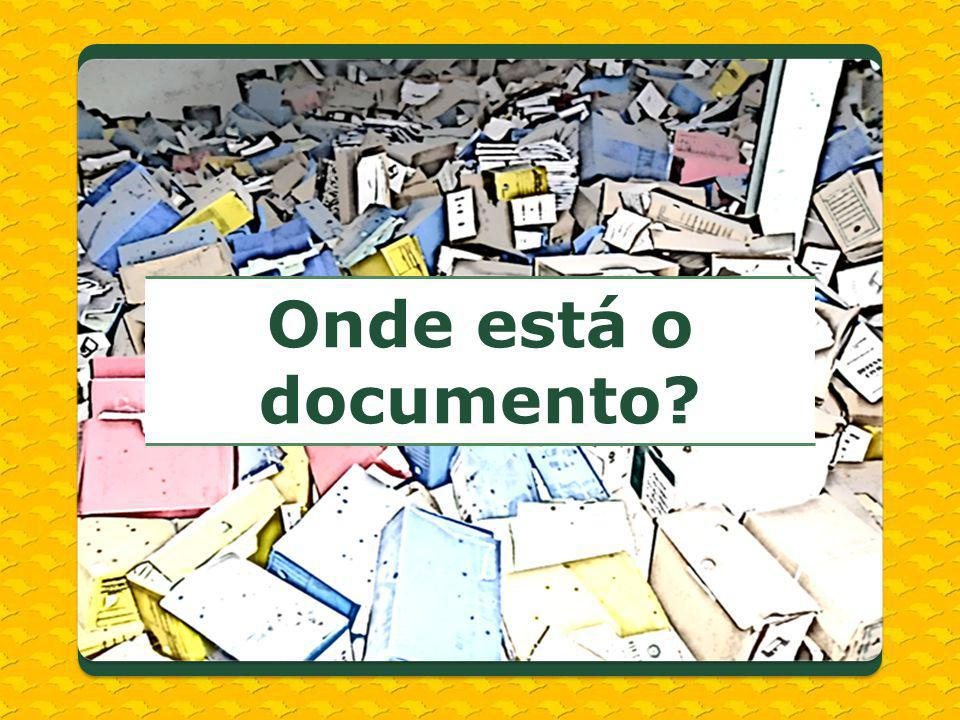 Onde está o documento
