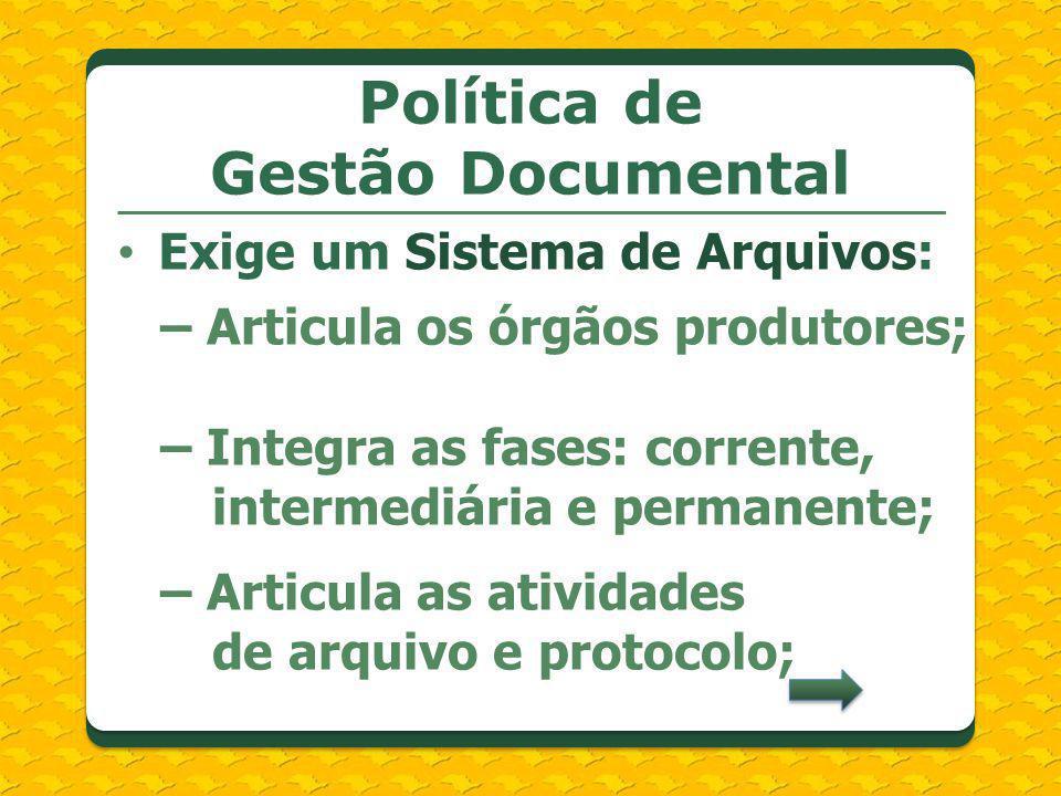 Política de Gestão Documental