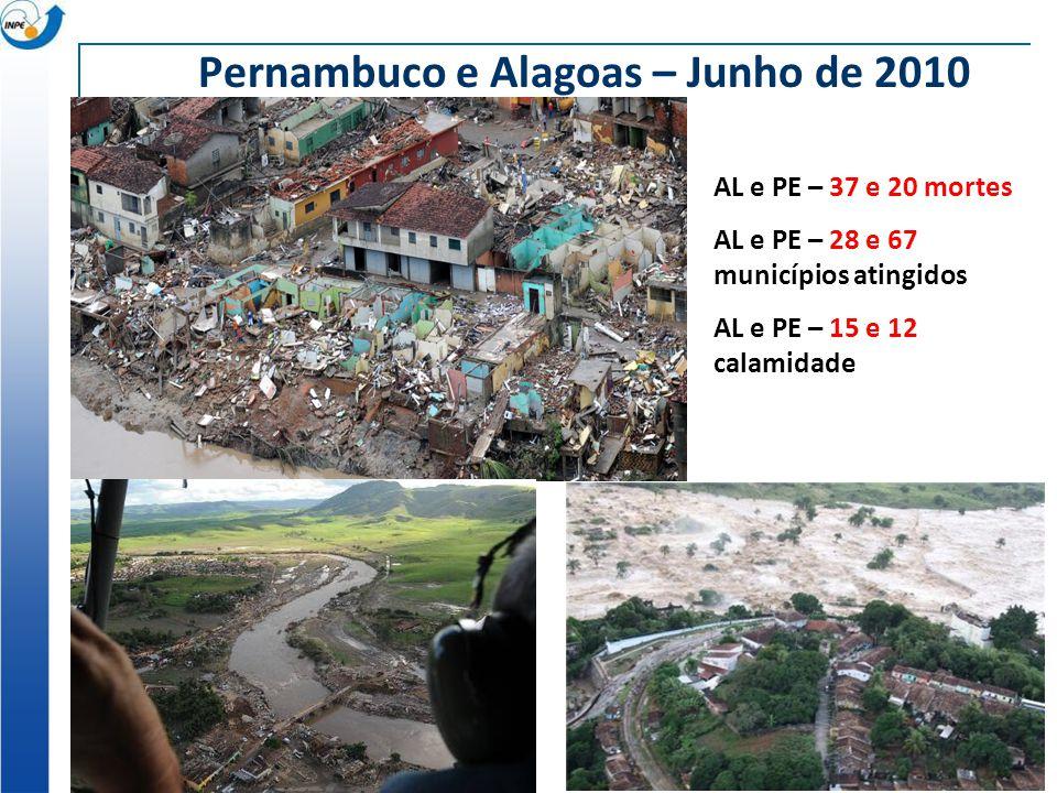 Pernambuco e Alagoas – Junho de 2010