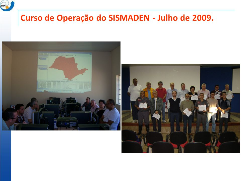 Curso de Operação do SISMADEN - Julho de 2009.