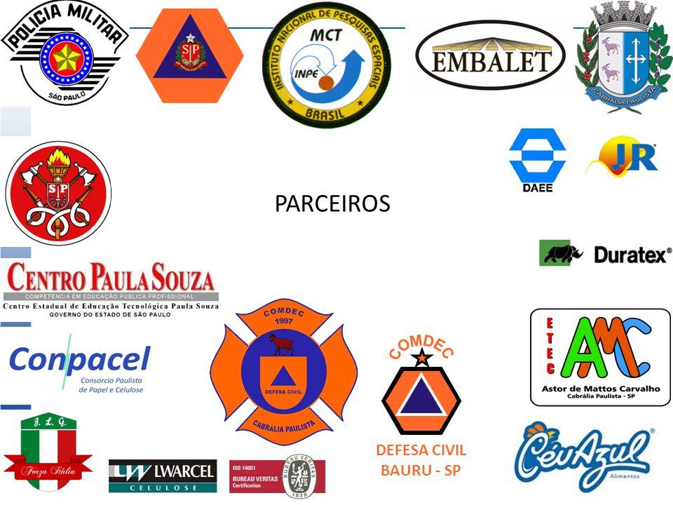 PARCEIROS COMDEC DEFESA CIVIL BAURU - SP