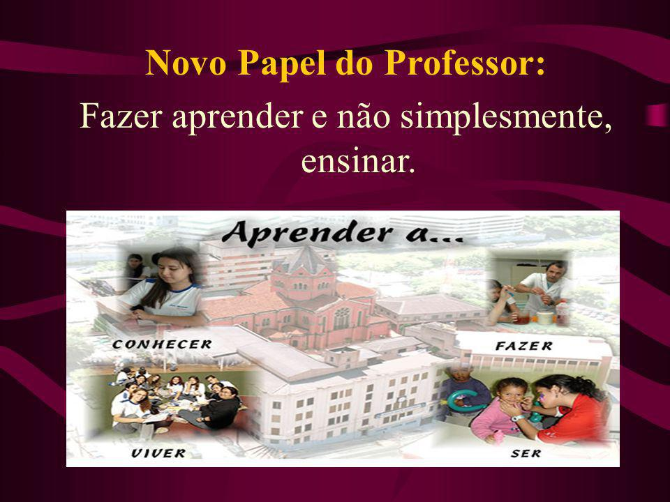 Novo Papel do Professor: