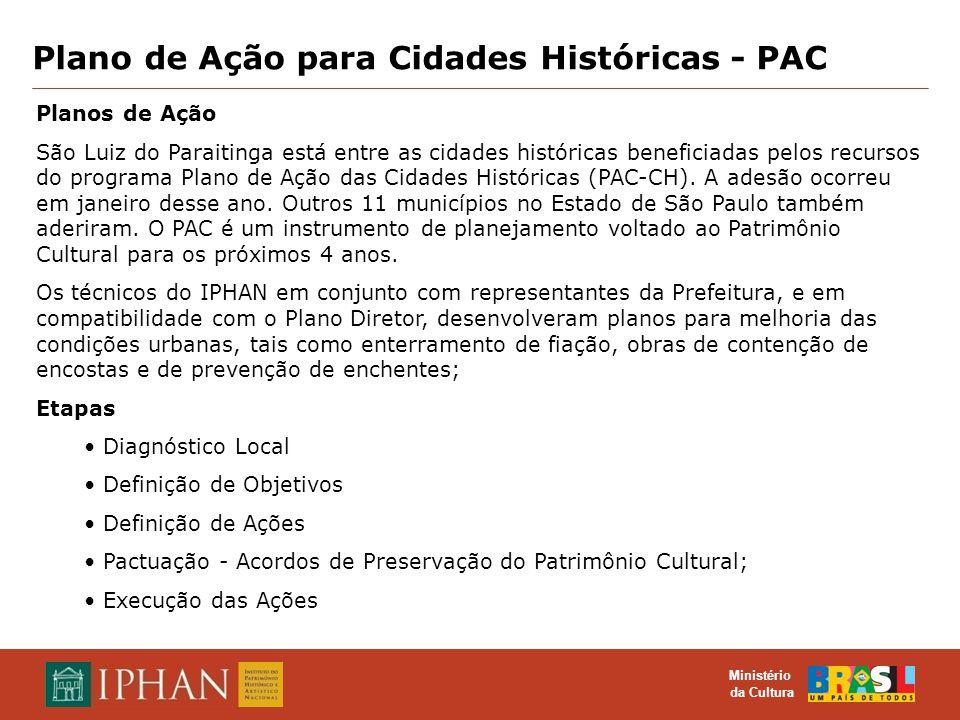 Plano de Ação para Cidades Históricas - PAC