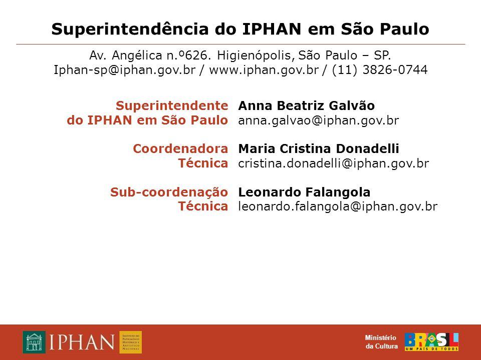 Superintendência do IPHAN em São Paulo