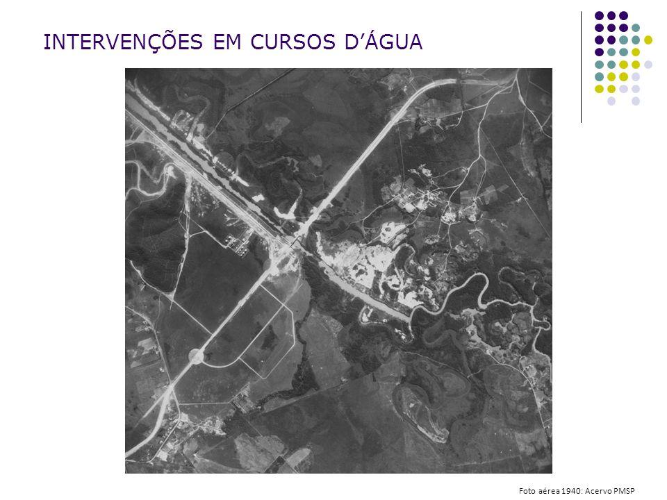 INTERVENÇÕES EM CURSOS D'ÁGUA