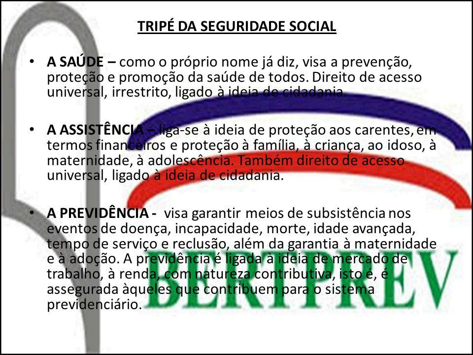 TRIPÉ DA SEGURIDADE SOCIAL