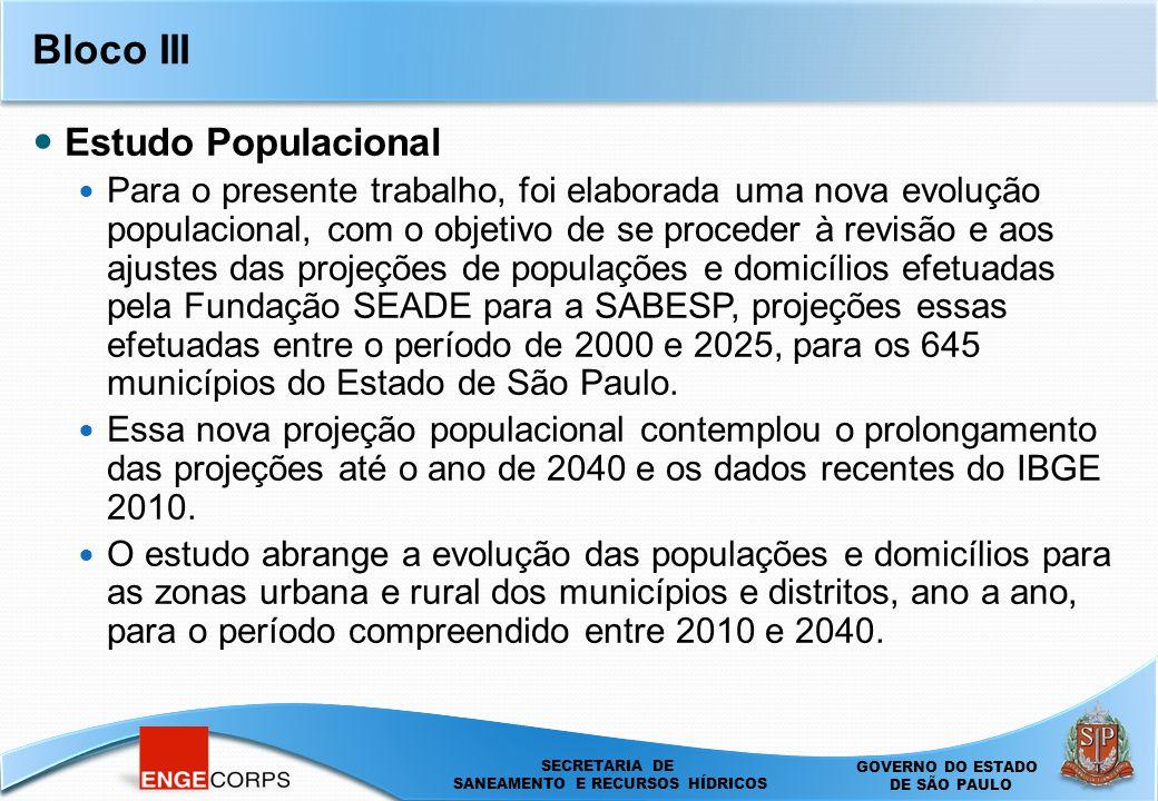 Bloco III Estudo Populacional