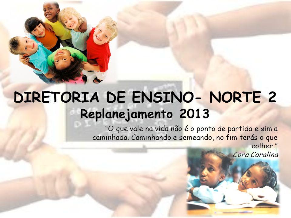 DIRETORIA DE ENSINO- NORTE 2 Replanejamento 2013