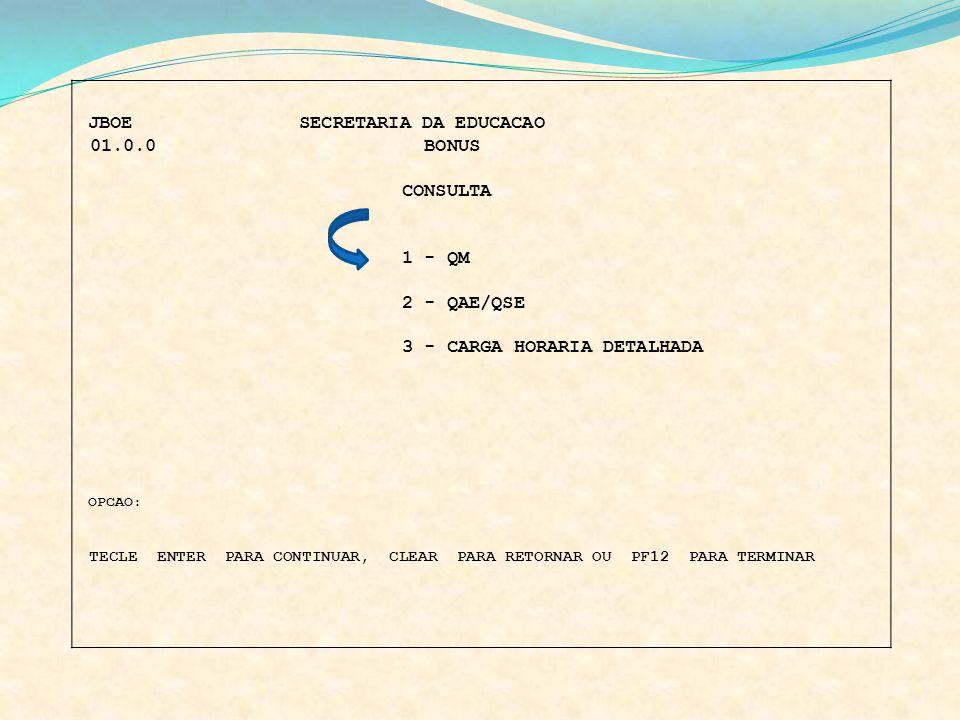 3 - CARGA HORARIA DETALHADA