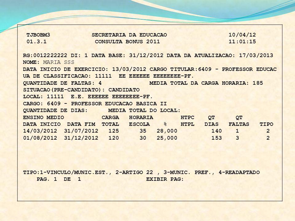 TJBOBM3 SECRETARIA DA EDUCACAO 10/04/12