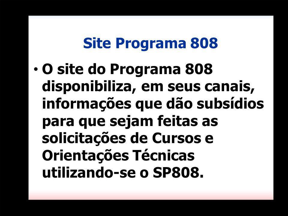 Site Programa 808