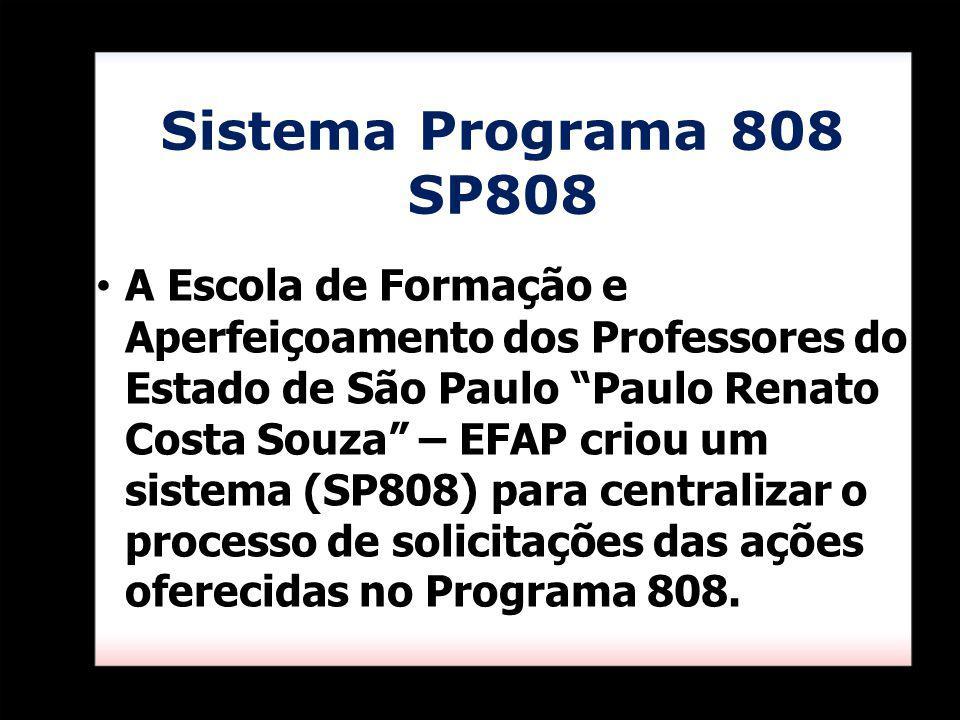 Sistema Programa 808 SP808