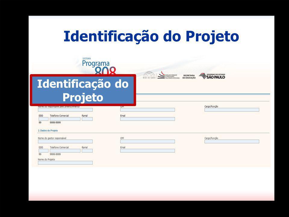 Identificação do Projeto