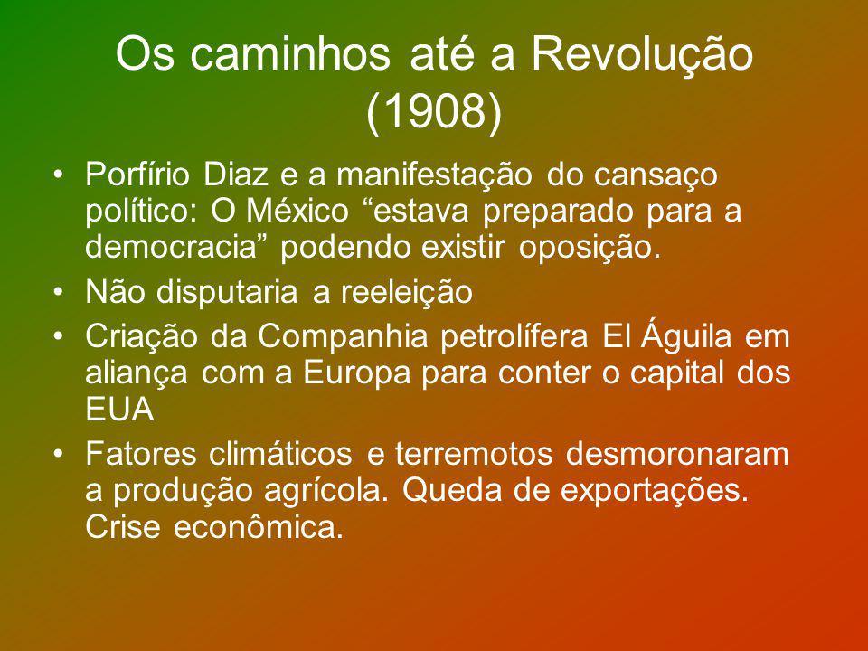Os caminhos até a Revolução (1908)