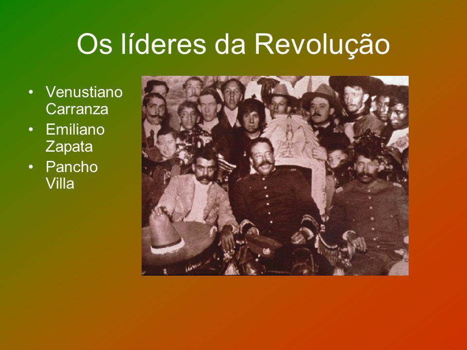 Os líderes da Revolução