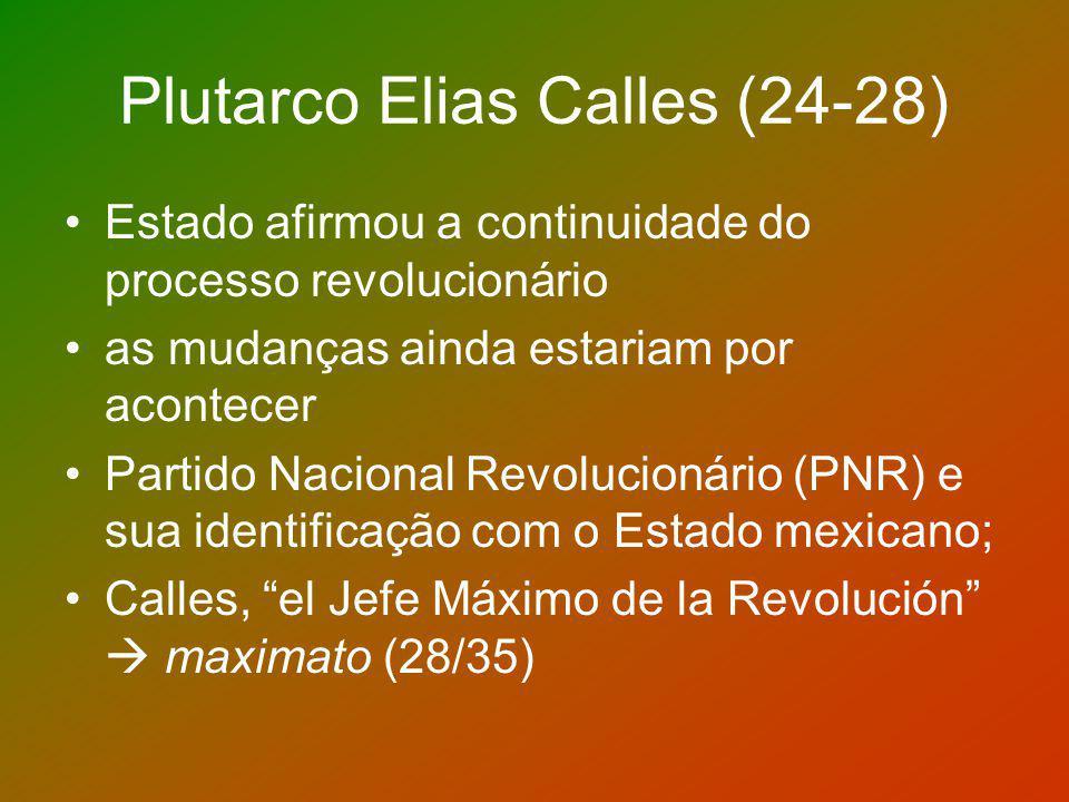 Plutarco Elias Calles (24-28)