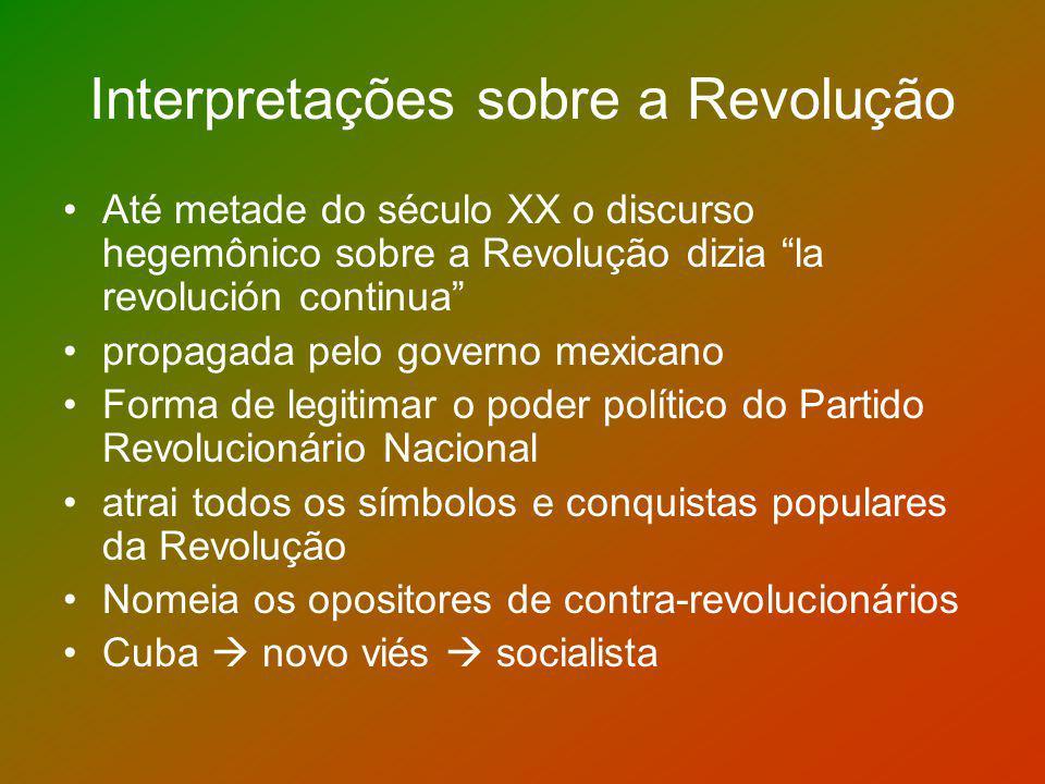 Interpretações sobre a Revolução