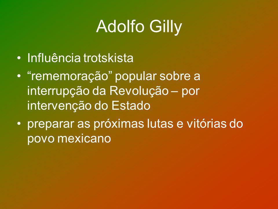 Adolfo Gilly Influência trotskista