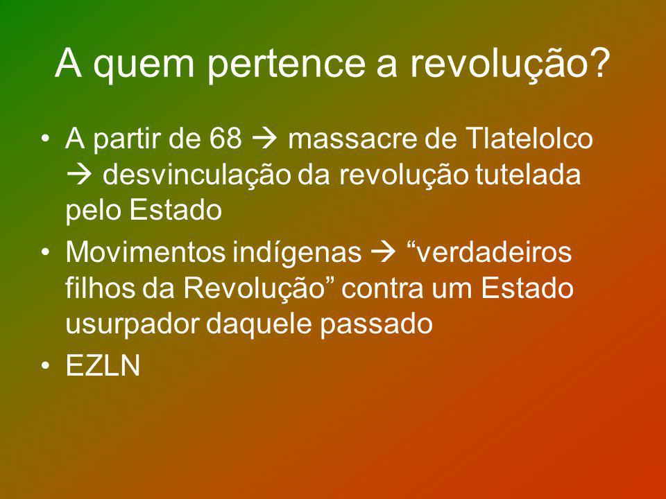 A quem pertence a revolução