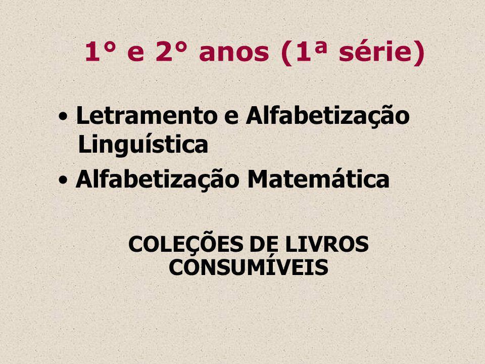 COLEÇÕES DE LIVROS CONSUMÍVEIS