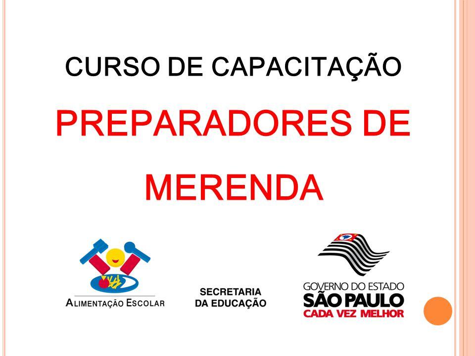 PREPARADORES DE MERENDA