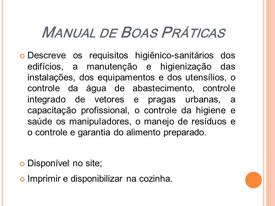 Manual de Boas Práticas