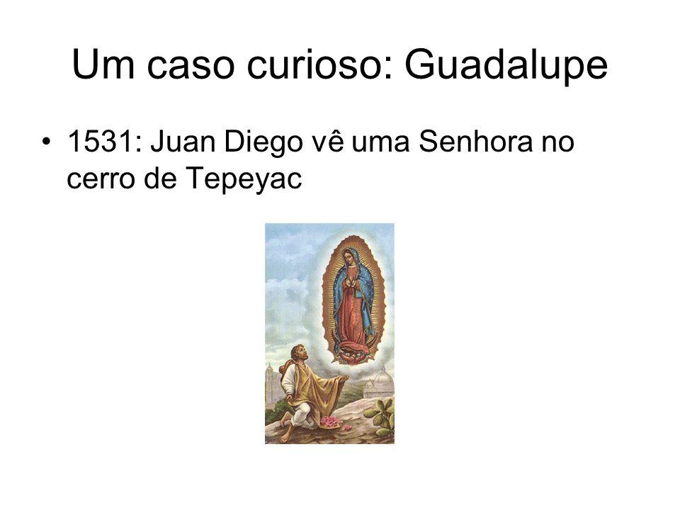Um caso curioso: Guadalupe