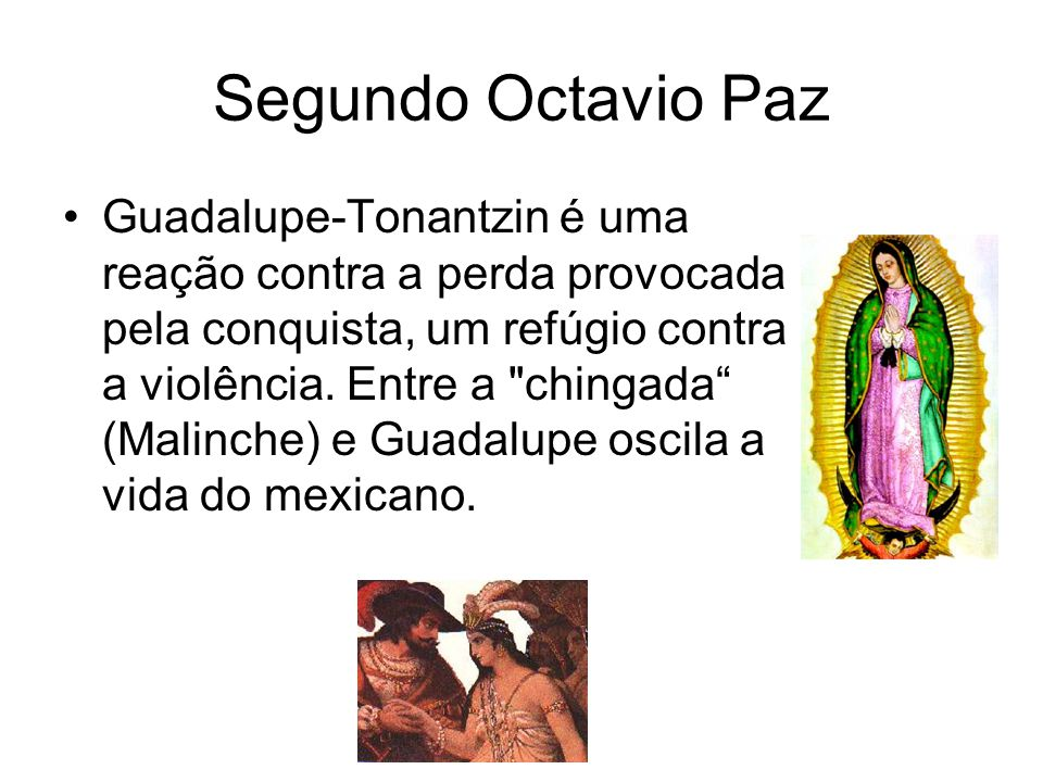 Segundo Octavio Paz