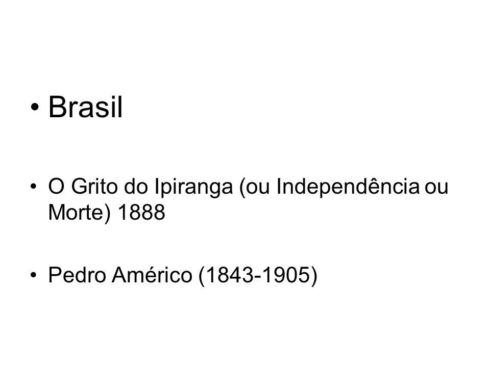 Brasil O Grito do Ipiranga (ou Independência ou Morte) 1888